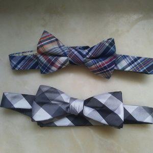 Men's bow tie set nwot
